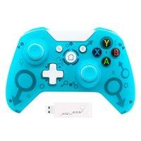 Oyun Denetleyicileri Joysticks Bırak Kablosuz 2.4 GHz Alıcı Gamepad Xbox One / One S / ONE X / Windows Joystick Konsolu Kontrol Konak Controlle