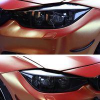 Pour BMW 7 Series G11 G12 2016 2017 2019 2020 Phare de voitures fumées Noir Sticker TPU TPU TPU Autocollant décoratif Accessoires auto