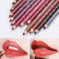 Lip Pencils 1PC Wood Waterproof Lady Charming Professional Makeup Cosmetic Tool Liner Pen Eyeliner Pencil