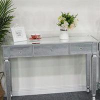 Quarto mobília nórdica simples luxo fch três gavetas espelho vestir console menina mesa de maquiagem