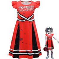Girls Dresses Kids Clothes Children Clothing Halloween Party Dance Cosplay Costume Dress B8237