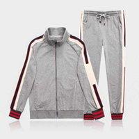 Erkek Eşofman Tasarımcılar Eşofman Hoodie Tişörtü Siyah Beyaz Sonbahar Kış Joggingers Spor Takım Elbise Erkekler Ter Eşofman Seti Artı