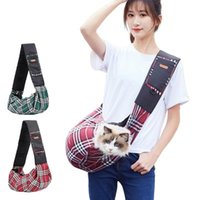 Cat Carriers,Crates & Houses Pet Dog Oxford Carrier Shoulder Bag Outdoor Portable Breathable Crossbody Puppy Sling HandBag For Carrying
