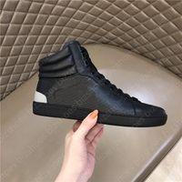 Ace Yüksek Üst Tasarımcı Ayakkabı Lüks Ayakkabı G Casual Ayakkabı Yeşil Kırmızı Şerit G İtalya Deri Chaussures Tasarımcı Eğitmen Kadın Ace Ayakkabı