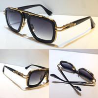 403 Novos óculos de sol populares com proteção UV para homens e mulheres vintage retângulo prancha moldura metálica moda qualidade superior vem com o caso