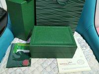 Bolso de regalo de la caja de relojes de relojes de Woody Office Oficial de la mejor calidad de la mejor calidad para Rolex Box 116600 Cajas de relojes