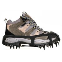 Cords, Slings And Webbing 1 Pair 18-Teeth Winter Hiking Climbing Chain Cleats Snow Non-slip Shoes Crampons Anti Slip Cover