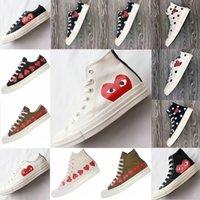 2021 Klasik Rahat Erkekler Bayan Tuval Ayakkabı Yıldız Sneakers Chuck 70 Chucks 1970 1970'lerin Büyük Gözler Sneaker Platformu Stras Ayakkabı Ortaklaşım Adı Kampüsü