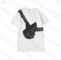 20SS Satteltasche gedruckt Herren Womens Designer T-shirts Mode Mann T-shirt Top Qualität Baumwolle Beiläufige Tees Kurzarm Luxe Tshirts