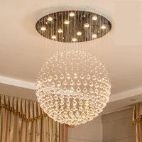 22-Light Chanselier Современная K9 Crystal Raindrop люстры Освещение светодиодный потолочный светильник подвесной светильник для столовой ванная комната Спальня гостиная гулать луковицы