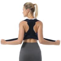 Corretor de Postura Ombro Back Pain Reliever Spine Straightener Ortopédico Cinto Cinto Mulheres CORSET retas para apoio traseiro