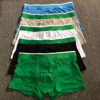 Rthika Mens Boxers Sous-gardes Coton Sous-vêtements Alligator Designer Marques Sous-potes Sexy Classic Boxer Casual Street Sous-vêtement respirant 3pcs avec boîte Top Sell