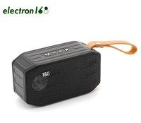 TG296 مصغرة سماعات بلوتوث لاسلكية مكبرات الصوت المحمولة في الهواء الطلق مكبرات الصوت يدوي دعوة الملف الشخصي ستيريو باس 500 مللي أمبير بطارية دعم tf usb بطاقة aux