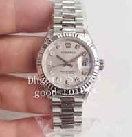 Homens relógios de pulso 28mm wf fábrica Ladys Automatic Women's Movement 279175 Steel Senhoras Data Presidente 279174 Sapphire