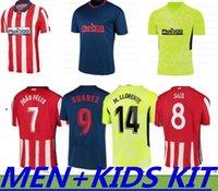 20-21 Joao Felix Men Kids Soccer Jerseys 2021 Koke Griezmann Saul Lemar Suarez Correa Diego Costa Football Camiseta de Fútbol