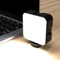 36 LEDS Lamba Lamba Klip Mini Taşınabilir PC Dizüstü Telefon Canlı Streaming Yayın Video Konferans USB Şarj Edilebilir Dolgu Işık