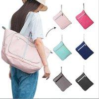 Duffel Bags Foldable Waterproof Travel Luggage Bag Sport Tote Holdall Handbag School Storage Duffle