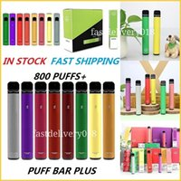 PUFF BAR PLUS 800 Puffs Disposable Vapes E cigarettes 550mAh Battery 3.2mL Pre-Filled Vape Pods with Security Code Puffbar PRO XXTRA bang xxl ELF in stock