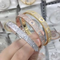 Zlxgirl Jewelry High Quality Women Match Micro Pave Setting Bangle Fashion Wedding bracelet Free cups
