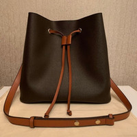 Hot Sids Luxurys Designers Neonoe Bucket Bolsas Flor Bolsas Mulheres Tote Carta Carta Genuine Couro Bolsas Crossbody Bag