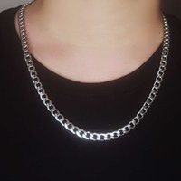 Chain Cuban Link Trendy Gold Silver Color Jewelry Titanium Metals Stainless Steel Fashion Cn (Origin) for Men and Women