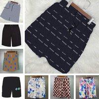 Kleurrijke Brief Heren Shorts Sweat Broek Badmode Mesh Ademend Strand Korte Sportrijke Mannen Zwembroek Krommels 18 stijlen