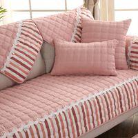 كرسي يغطي شريطية الحديثة القطن الأريكة للأثاث عدم الانزلاق أريكة الأغلفة حصيرة المنسوجات المنزلية forros الفقرة muebles دي سالا CX527