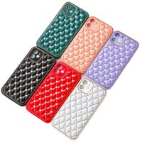 Bling Rhinestone 3Dプレミアム電気メッキのスタイリッシュな電話ケースiPhone 13 12 11 Pro最大XR XS x 8 7 Plus、女の子の女性の携帯電話カバー