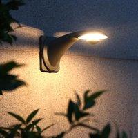 Lukloy LED Открытый Настенный светильник Nordic Современный Минималистский Открытый Водонепроницаемый Одиночный Голова Стена Светлая Вилла Двор Волна Внешний Браун