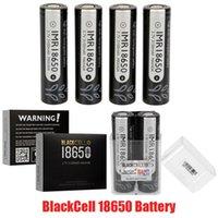 100% originale Blackcell IMR18650 tipo di batteria nero IMR 18650 batteria al litio 3100mAh 40A per vape scatola mod sufficiente capacità batteria vape autentica