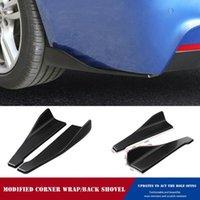 Car Sunshade Auto Rear Bumper Protector Diffuser Lip Splitter Apron Side Spoiler Wrap Angle Of Automobile Universal Shovel