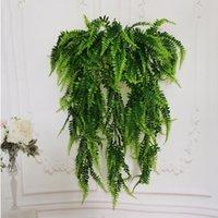 Persia Folha Indoor Planta Verde Decoração Simulação Buquê Buquê Plantas Plástico Flores De Casamento Festa De Casamento Decoração