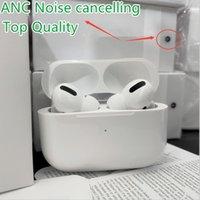 Top Quality Gen 3 para Airpods Pro ANC ANC Cancelamento de Ruído Transparente Fones de Ouvido Sem Fio Bluetooth Fones de ouvido AP3 AP2 AP2 Earbuds 2ª geração