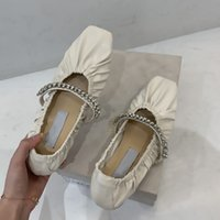 21 22 autumn dress shoes Early spring leisure women's boots temperament fashion Casual shoess ballet rhinestone flat 35-40 High-end quality