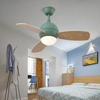 Modern LED Tavan Fanı Lambası Işık Uzaktan Kumanda Ile Yaşam Yemek Odası Ev Dekorasyonu Çocuk Odası Aydınlatma
