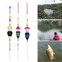 Accessori da pesca 3 pz Floats e Bobber Balsa Legno Float Attrezzature per angolazione per il bass trota pertica Crappie Tackle