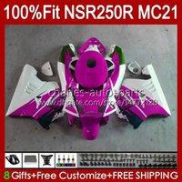 Inyección por HONDA NSR 250R NSR250 White Rose NSR 250 R 90 91 1992 1993 103HC.144 NSR250R MC21 PGM3 NSR250RR 1990 1991 92 93 Fairing OEM