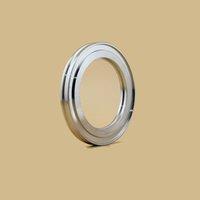 ISO100 Soudage intérieur Bride de soudure interne en acier inoxydable Tuyau sanitaire Bride Couplage Couplage de forge soudé Bride rainurée Bride rainurée Prix