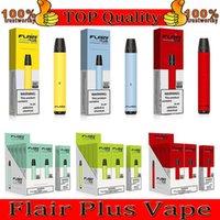Flair Plus Tek Kullanımlık Vape E Sigaralar 800 Puffs Kalem Cihazları 3.5 ml Ön Dolgulu Pods Kartuşları Buharlaştırıcılar 550 mAh Pil Buhar Hava Bar Puf Plus Sis Max
