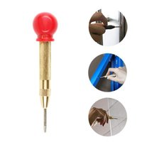 Professional Hand Tool Sets 130mm 5 Inch Handle HSS Automatic Center Pin Punch Spring Marking Hole For Metal Drilling