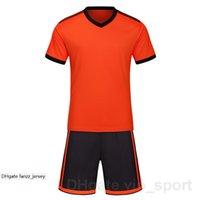 Número personalizado Número de fútbol Jersey Kits de fútbol personalizado Color azul blanco negro rojo amarillo rojo personalizado 166