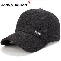 Jiangxihuue marca outono inverno lãs boné de beisebol snapback homens mulheres chapéu ao ar livre manter super mornos osso pai chapéus