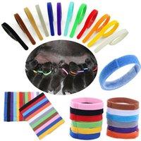 12 couleurs Puppy ID Collier Identifiant ID Colliers Band pour chiot Whelp Puppy Chaton Chien Pet Cat Velvet Pratique