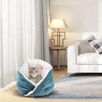 Kennels Stifte Haustierbett für Katzen Hunde Weiche Nest Kennel Höhle Haus Schlafsack Matte Pad Zelt Haustiere Winter Warme gemütliche Betten 3 Farben 888