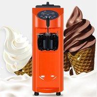 Desktop Small Single Head Ice Cream Machine Soft Ice Cream Maker Commercial Vending Machine 1000W