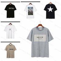 21SS Femmes Designer Homme Débutant Bouche ESS WHITE T-shirts T-shirts de luxe T-shirts Tops Angels Palm Sweats Hoodies Face North North Island T-shirt 2