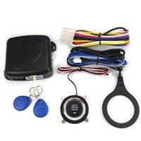 Alarm & Security 1 Set SQ9002 Safety Car Anti-theft Smart PKE One-key Begin Remote Control Keyless Systems