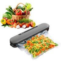 カッターなしの電気家庭用自動封止食品真空シーラー台所食品フルーツ包装機