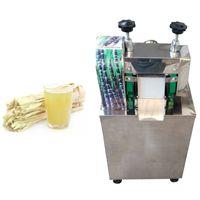 Hochwertiger Sugarcane Juicer-Maschine Kleiner Haushaltszucker Cane Suicer-Produktionsmaschine Edelstahl-Safthersteller