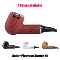 Authentic Anlerr 30W Pipevape Starter Kits Adjustable Temperature 1-1.5 Hours Fast Charge Time Amazing Ceramic Heating Chamber Kits